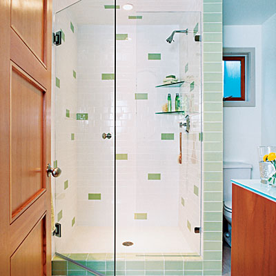 Bathroom Glass Subway Tile subway tile bathroom ideas - find this pin and more on bathroom