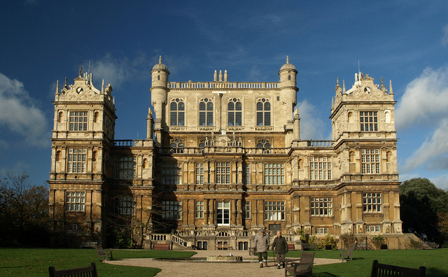 The Burghley House