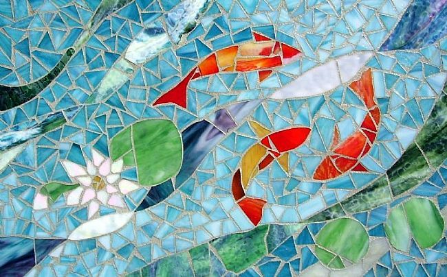 glass mosaic art marble mosaics blog