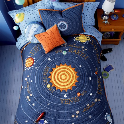 Design ideas for your kid s room marble mosaics blog for Outer space room design