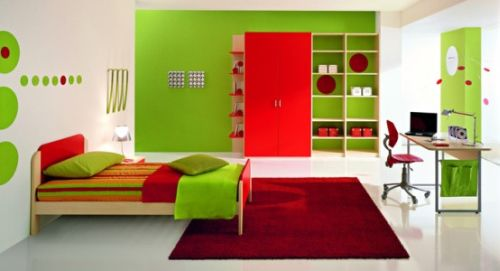 The Key Is Choosing Color You Want For Each Room Then Mixing It With Complementary Or Analogous Colors