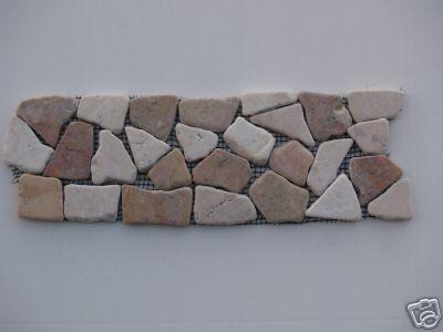 Pebble Tile | Pebble Tiles | Pebble Mosaic | Pebble Mosaics, Border Pebble  Tiles