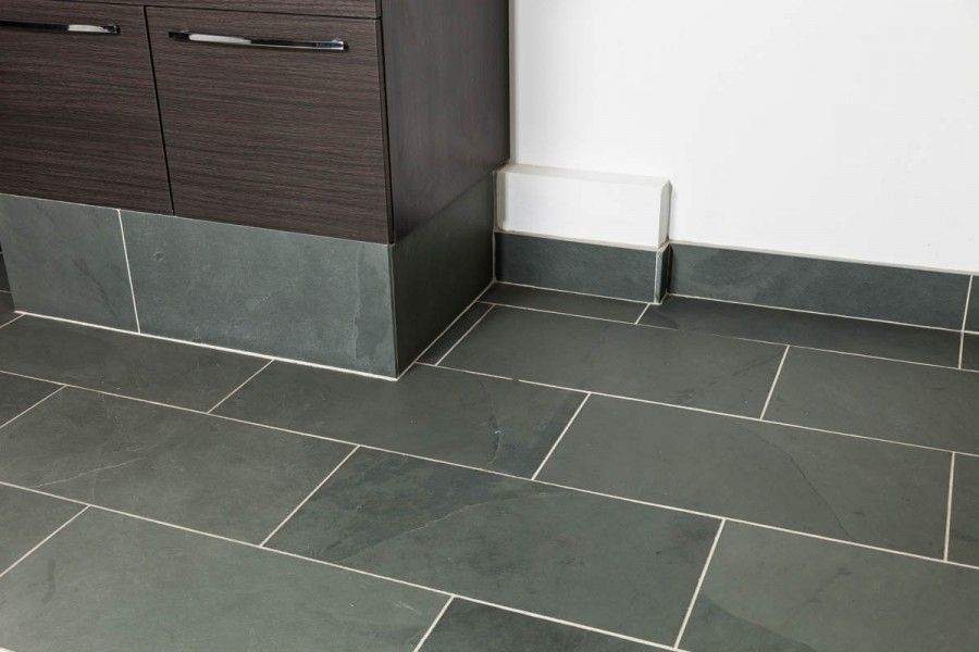 Grey Calibrated Brazilian Slate Tiles 600 Mm X 300 Mm X 10 Mm Perfect For Flooring Walls