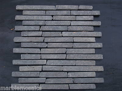 black basalt brickbone tile